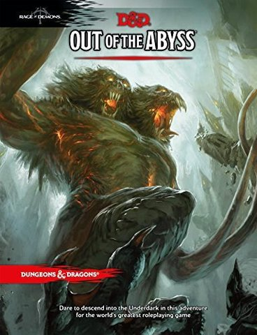 D&D Next: Out of the Abyss book