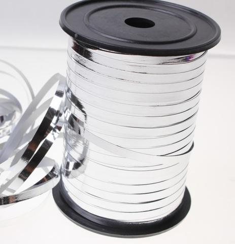 Лента металл на бобине Россия (размер: 5мм х 250ярдов) Цвет:серебро