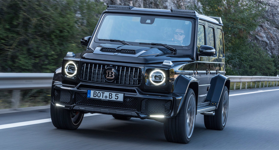 Обвес Brabus для Mercedes W464/W463A new
