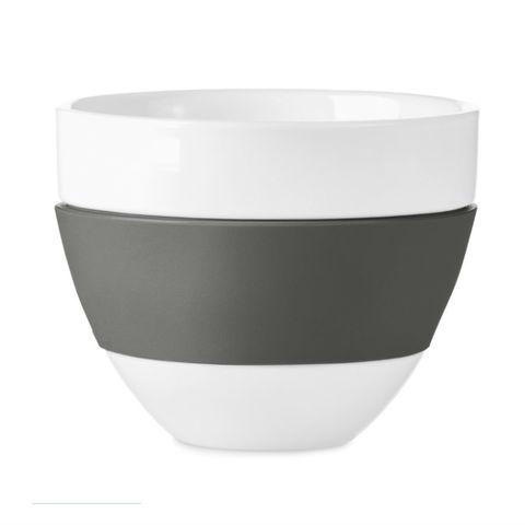 Чашка для латте aroma,300 мл, тёмно-серая Koziol 3560342   Купить в Москве, СПб и с доставкой по всей России   Интернет магазин www.Kitchen-Devices.ru