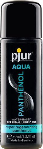 Лубрикант на водной основе с пантенолом pjur AQUA Panthenol - 30 мл. - Pjur pjur AQUA 13600