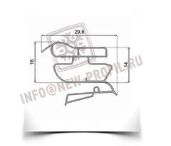Уплотнитель  101*57 см для холодильника Индезит C240G (холодильная камера) Профиль 022