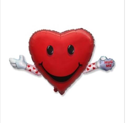 Фольгированный шар «Сердце» #148874