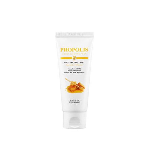 Ночная маска TOSOWOONG Propolis Honey Sleeping Pack 50ml