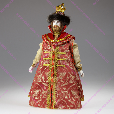 Царь - фарфоровая кукла
