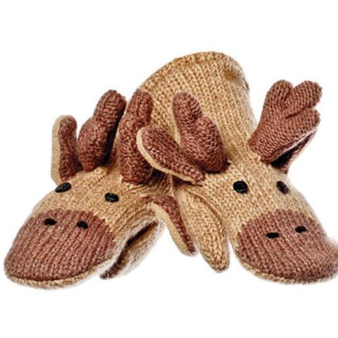 Картинка варежки Knitwits Manny the Moose