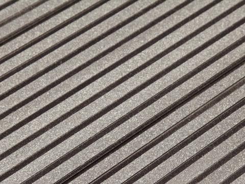 Террасная доска SW Ulmus - бесшовная. Цвет темно-коричневый