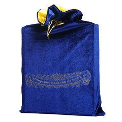 Мешок подарочный М-4. Цвет ультрамарин