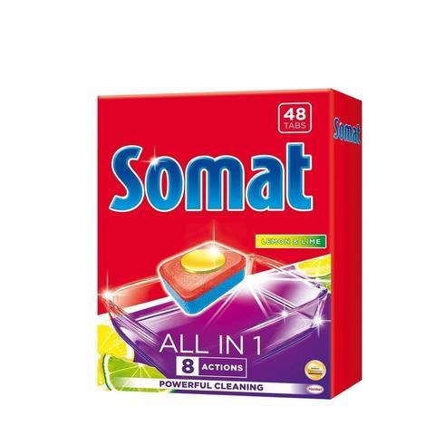Таблетки для посудомоечных машин Somat All in 1 (48 штук в упаковке)