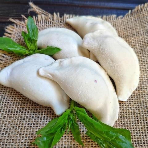 Фотография Пельмени из телятины / 500 г купить в магазине Афлора