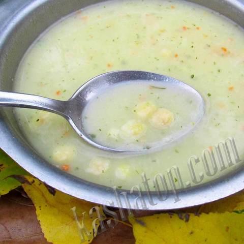 Суп-пюре гороховый с сухариками 'Леовит', 40г
