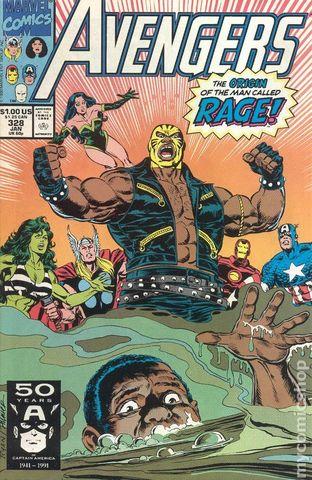 The Avengers #328