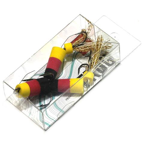 Приманка джиг. FROG, 7 см, цвет желт./красн./черн., арт. FB3002941
