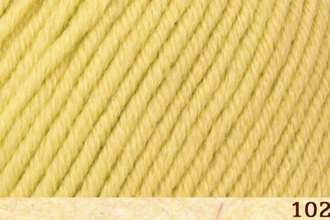 Пряжа Fibra Natura Dona 106-02 желтый
