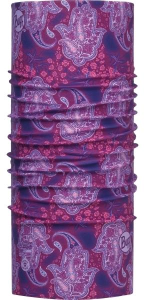 Летние банданы Бандана-труба летняя Buff Hamsa Purple 00022258_0.jpg