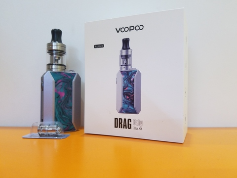 Набор DRAG BABY TRIO starter kit by VOOPOO 1500mAh 1.8ml
