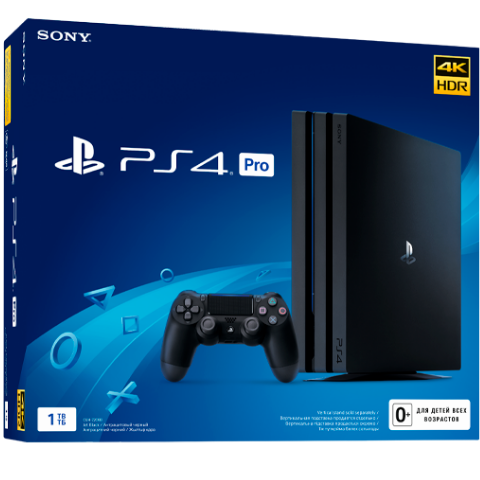 Sony PlayStation 4 Pro Black 1Tб