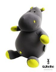 Подушка-игрушка антистресс «Бегемот малыш Няша», желтый 3