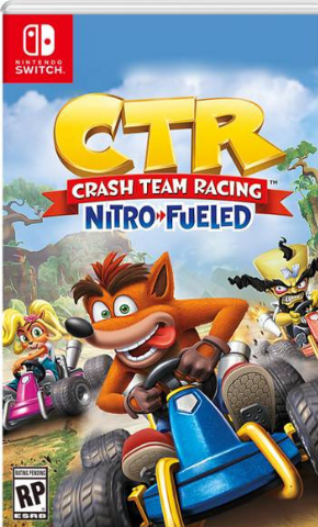 Crash Team Racing Nitro-Fueled (Nintendo Switch, английская версия)