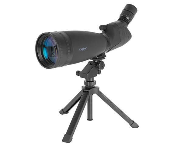 Подзорная труба Veber 25-75x100: линза объектива с полным просветляющим покрытием