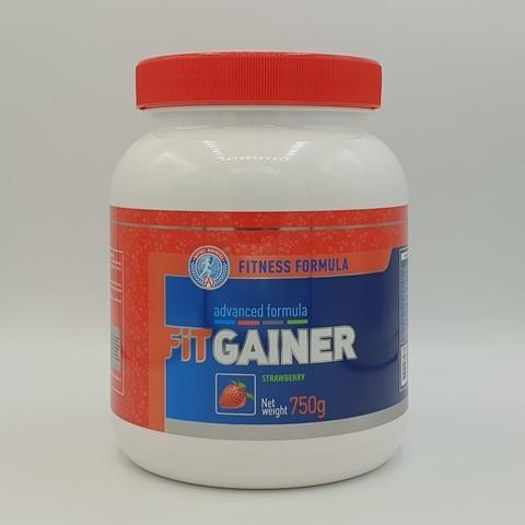Гейнер FITNESS FORMULA, вкус клубника, Академия-Т, 750 гр