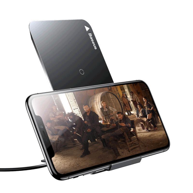 Galaxy S9 Беспроводная зарядка Baseus Multifunctional Wireless Charging Pad with Desktop Holder 2.jpg