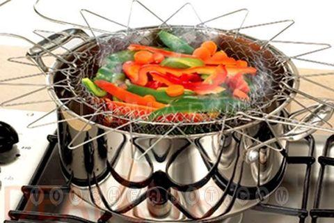 Складная решётка для приготовления пищи Шеф Баскет