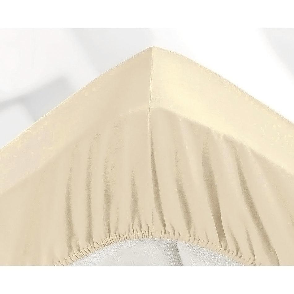 МИКРОФИБРА - Полутораспальная простыня на резинке 120х200