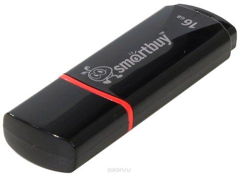 16GB USB-флеш накопитель CROWN SMARTBUY черный