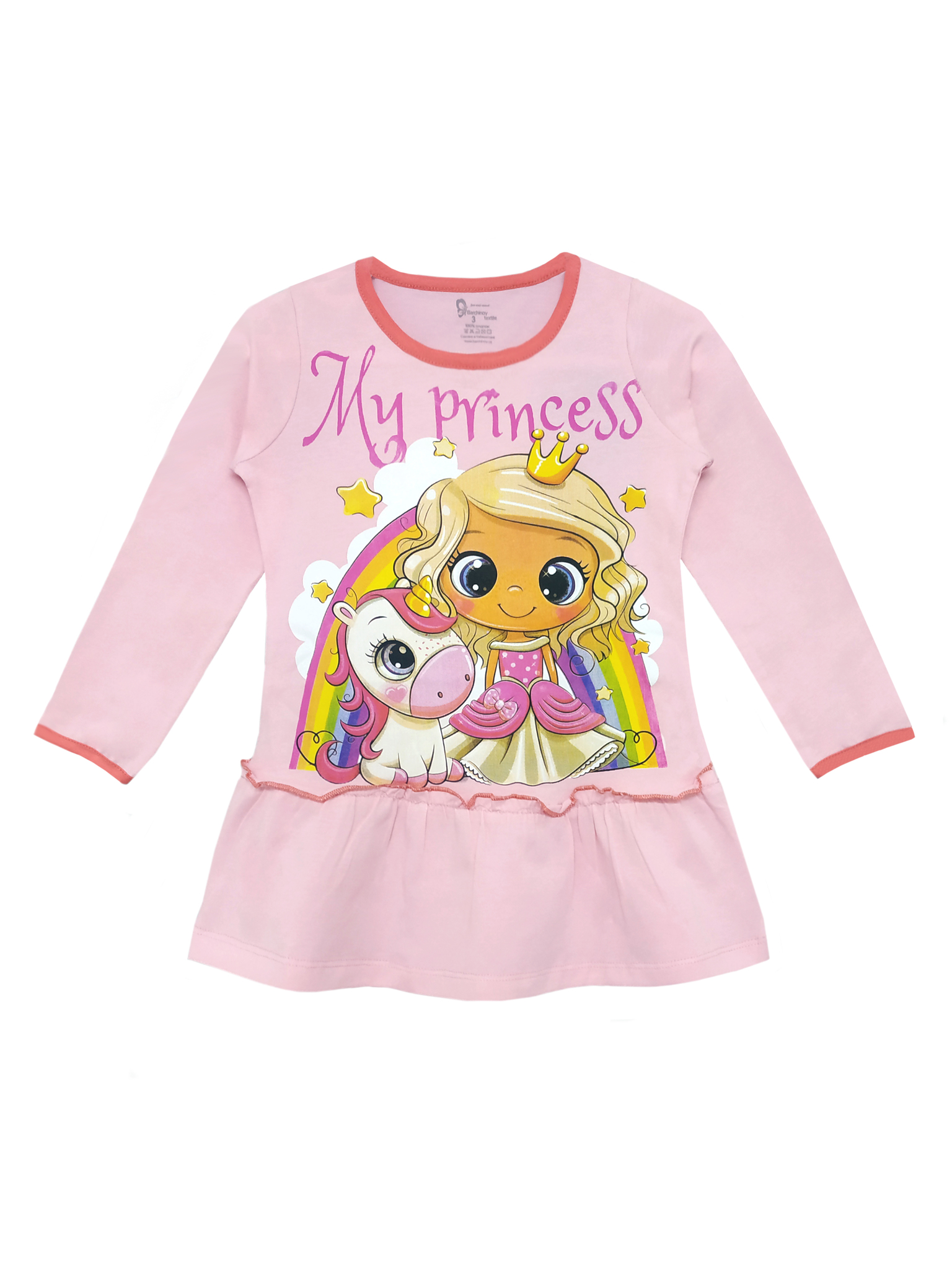 Платье для девочек 3-7