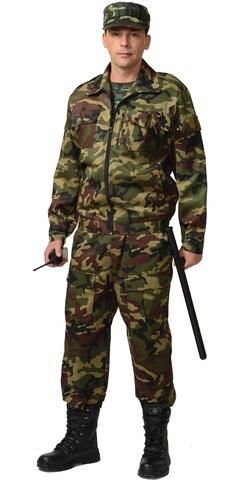 Костюм  Охранника  куртка, брюки КМФ зеленый