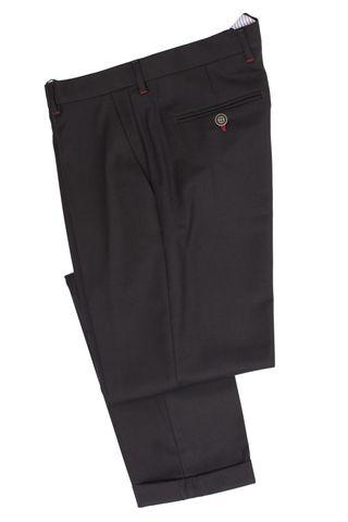 Мужские брюки Carol, классические, сильно зауженного кроя, темно-серые