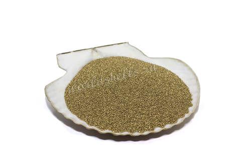Золотистый цветной песок 300 гр.
