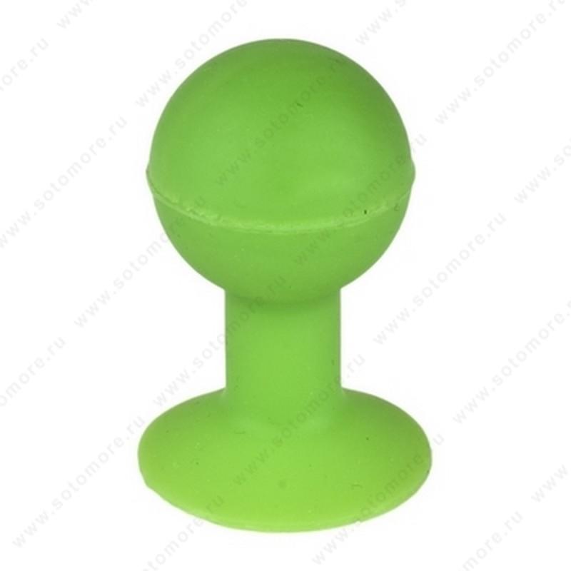 Торговое оборудование - Подстаква-присоска универсальная для смартфонов зеленая
