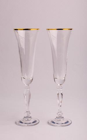 Набор бокалов свадебный «Виктория», 180 мл