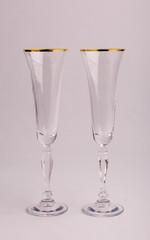 Набор бокалов свадебный «Виктория», 180 мл, фото 1