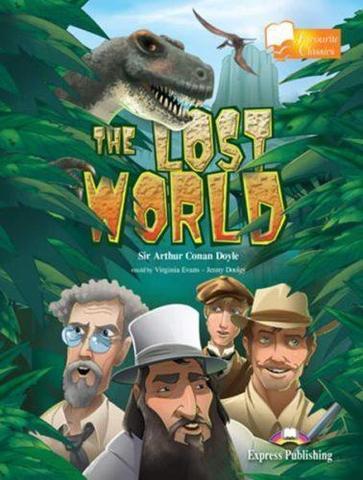 The lost world. Затерянный мир. Артур Конан Дойль. Уровень B1 (7-8 класс) Книга для чтения
