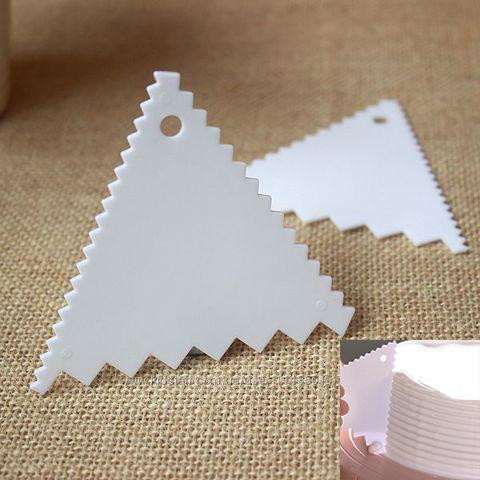 Скребки малые, фигурные, пластик (2 шт.)