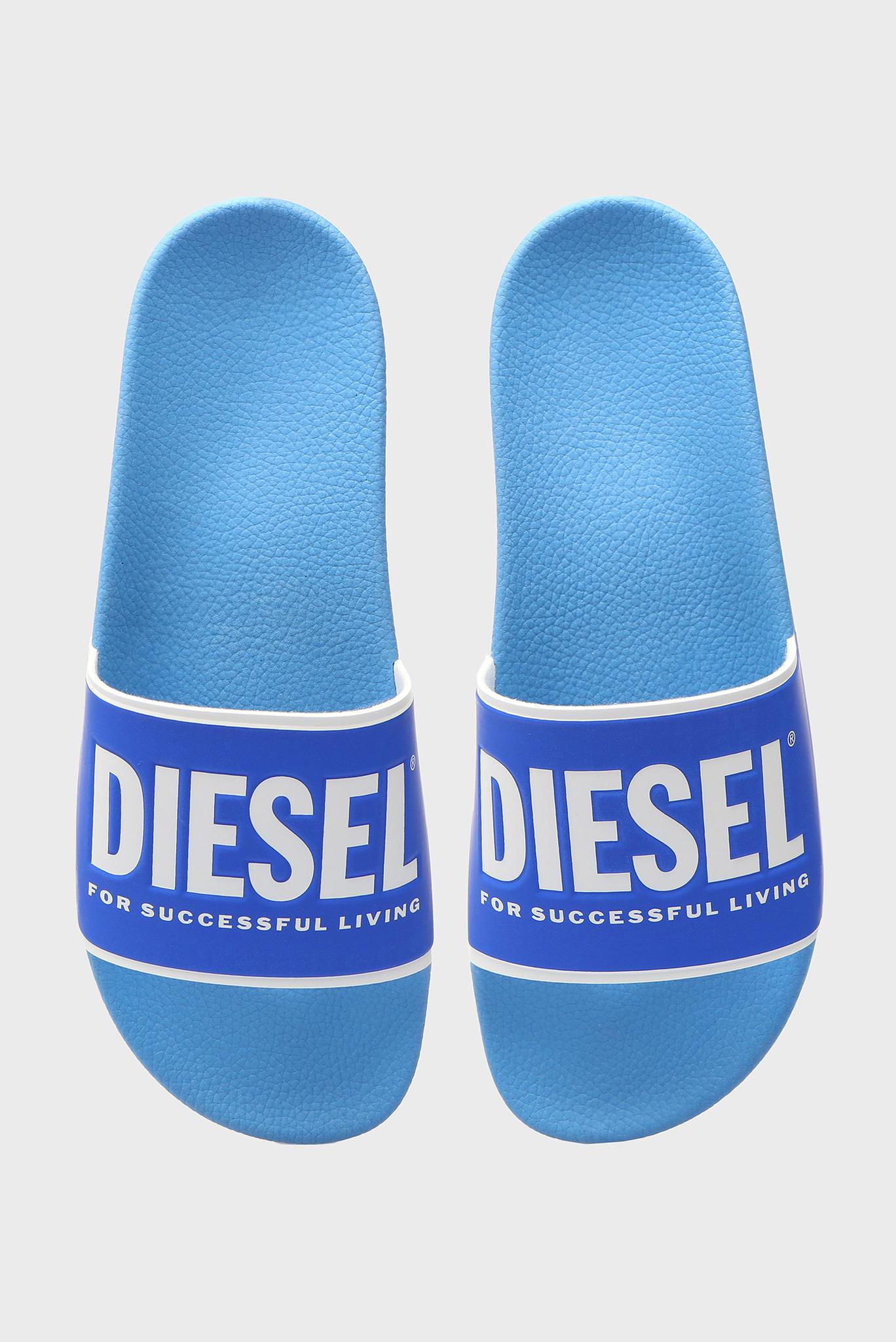Мужские синие слайдеры VALLA Diesel