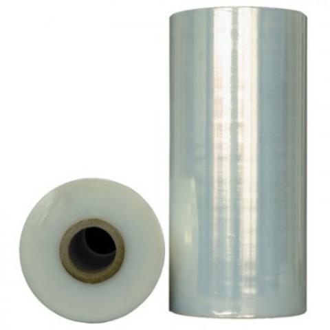 Стрейч-пленка для машинной упаковки вес 16 кг 17 мкм x 50 см x 2050 м (престрейч 300%)