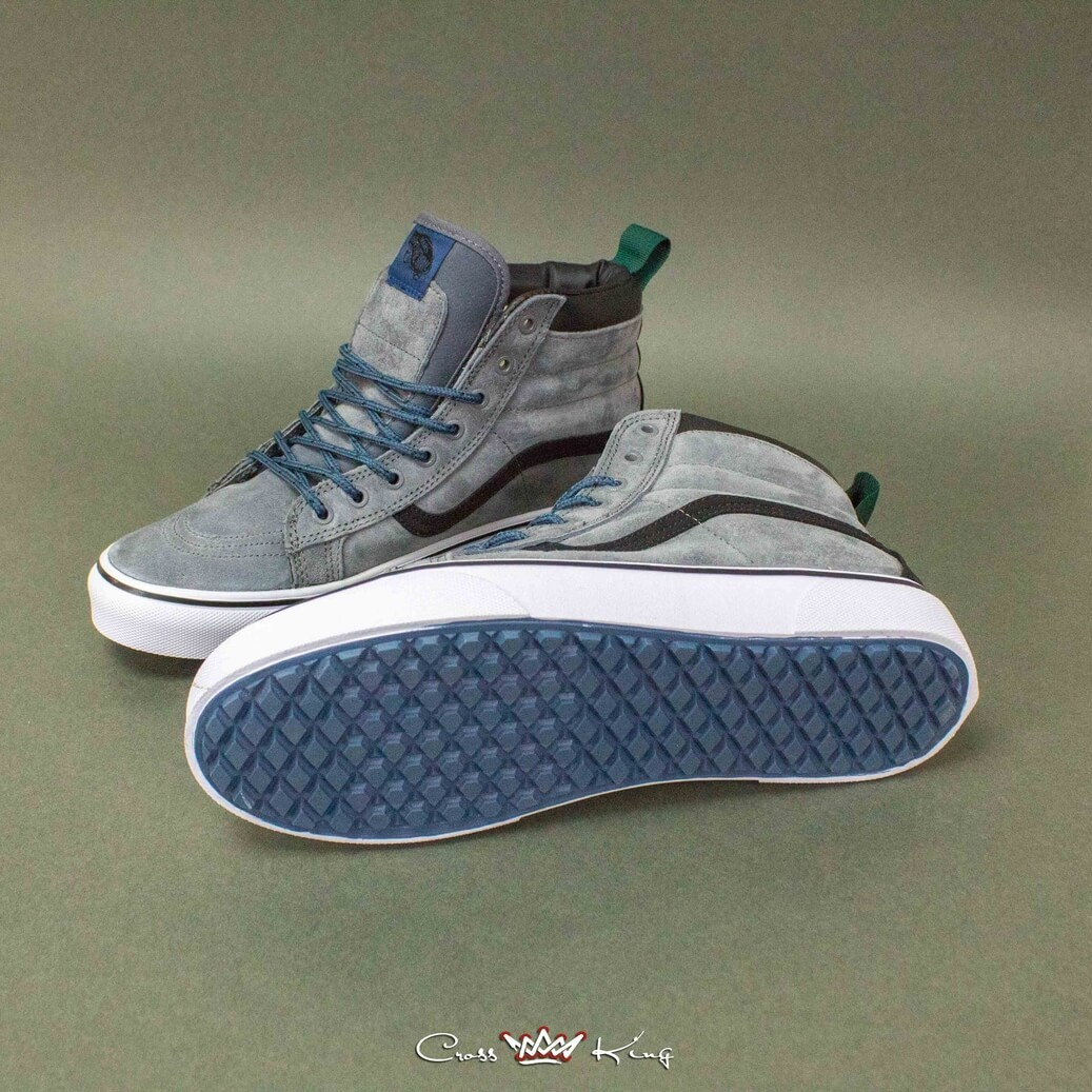 Купить Vans Off the Wall из серой замши 2367-1447