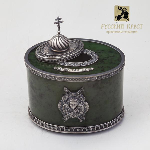 Ковчежек для православных мощей.