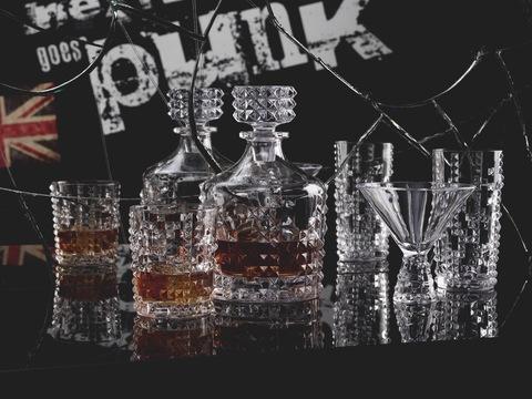 Набор из 4-х бокалов Longdrink 390 мл артикул 99498 Серия Punk