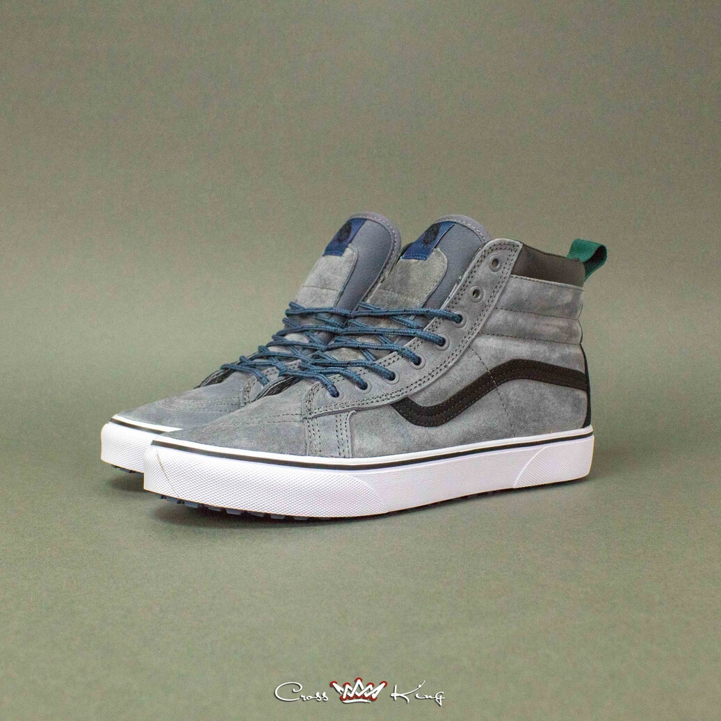 Купить Vans Off the Wall из серой замши 2367-2558