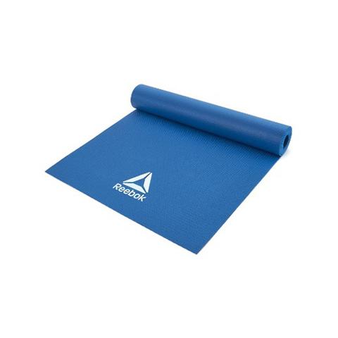 RAYG-11022BL Тренировочный коврик (мат) для йоги Reebok синий 4мм