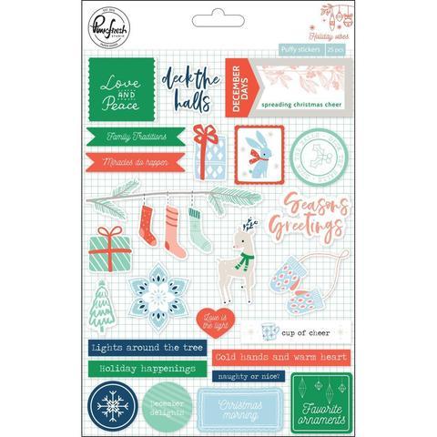 Объемные стикеры от Pinkfresh Studio- Holiday Vibes