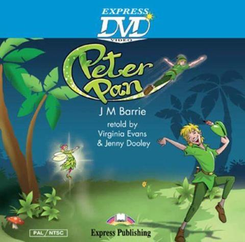 Peter Pan. Питер Пен. DVD видео.