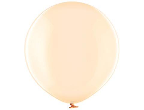 Большой шар кристалл оранжевый