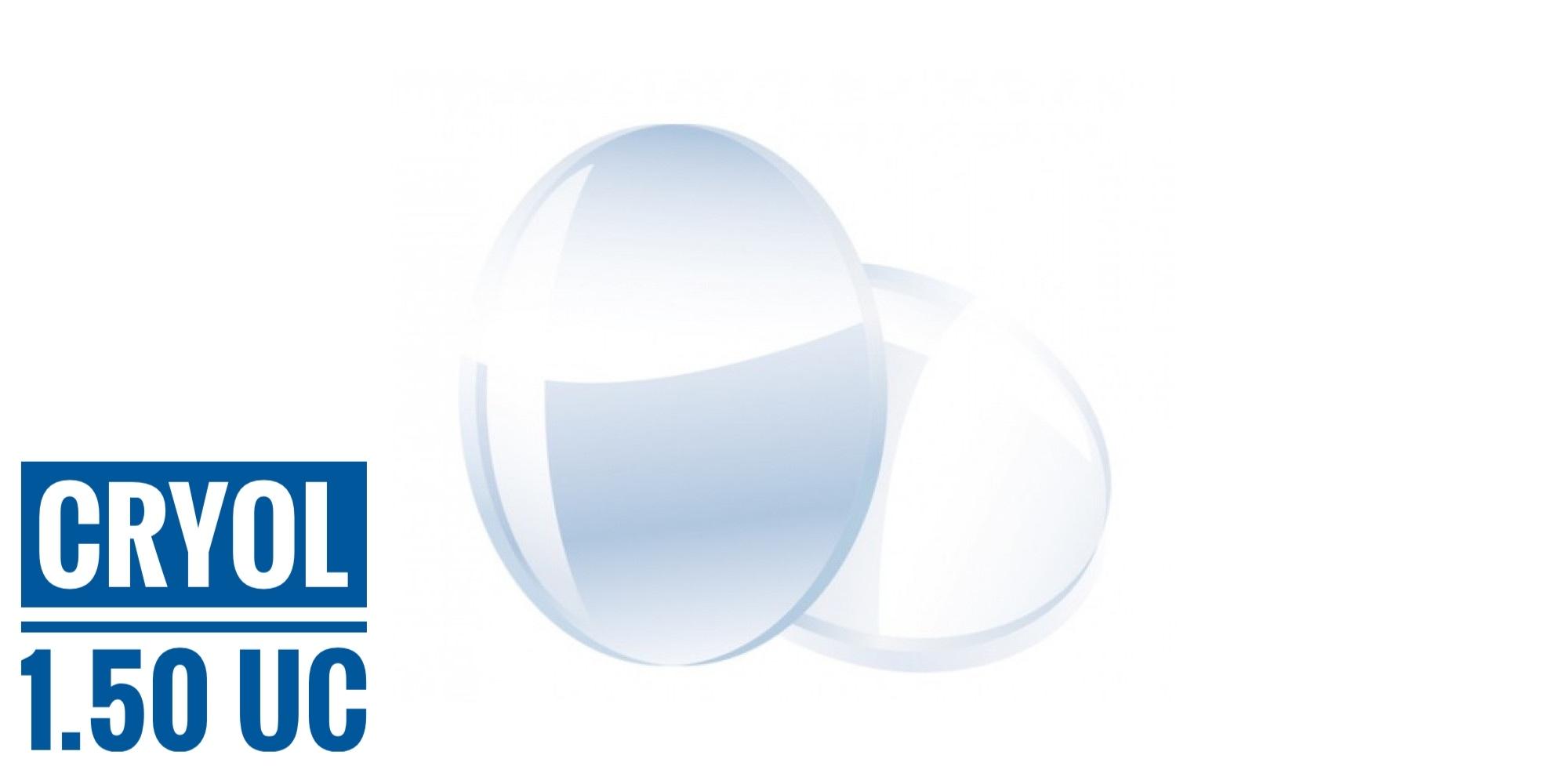 Линза полимерная без покрытия (1,5, Корея), 1 шт.