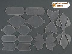 Комплект шаблонов для Набора бантиков №6